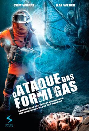 Capa do filme 'O Ataque das Formigas'