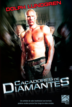 Capa do filme 'Caçadores de Diamantes'
