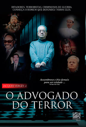 Capa do filme 'O Advogado do Terror'