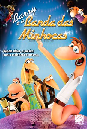 Capa do filme 'Barry e a Banda das Minhocas'