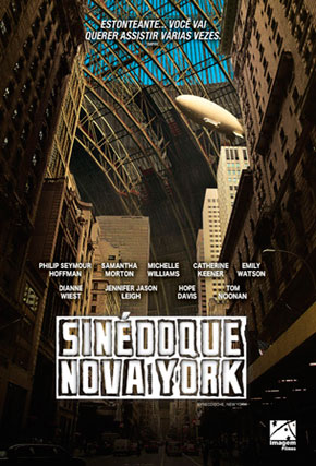Capa do filme 'Sinédoque, Nova York'