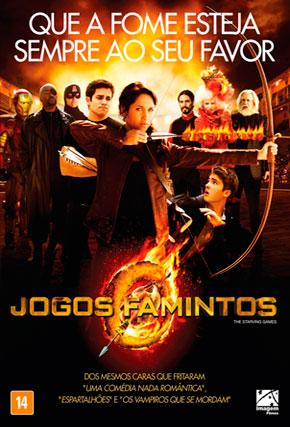 Capa do filme 'Jogos Famintos'