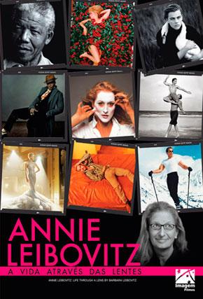 Capa do filme 'Annie Leibovitz: A Vida Através das Lentes'
