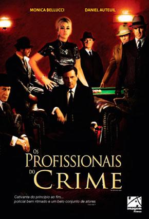 Capa do filme 'Os Profissionais do Crime'