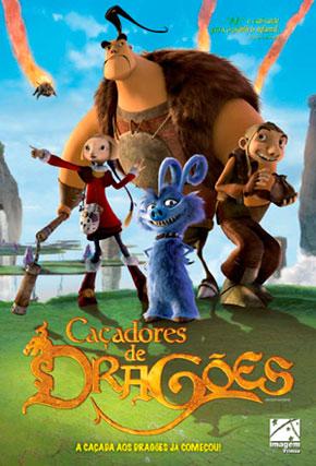 Capa do filme 'Caçadores de Dragões'