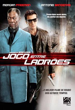 Capa do filme 'Jogo entre Ladrões'