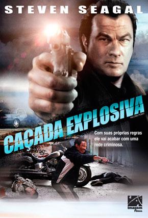 Capa do filme 'Caçada Explosiva'