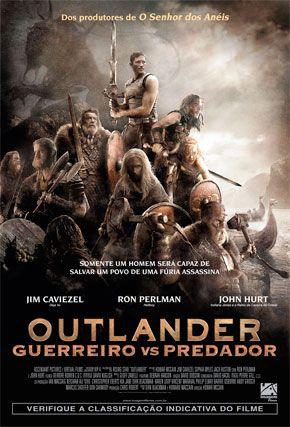 Capa do filme 'Outlander - Guerreiro vs Predador'
