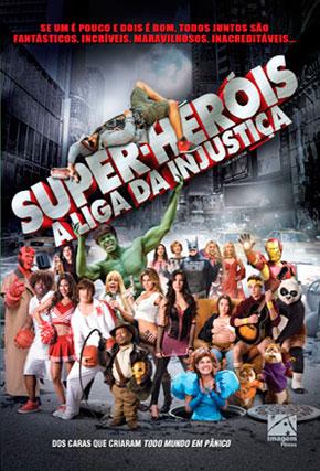 Capa do filme 'Super-Heróis - A Liga da Injustiça'
