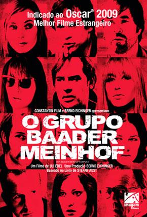 Capa do filme 'O Grupo Baader Meinhof'