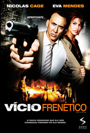 Capa do filme 'Vício Frenético'