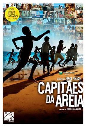 Capa do filme 'Capitães da Areia'