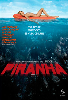 Capa do filme 'Piranha'