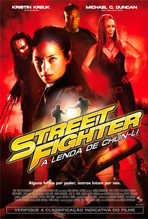 Capa do filme 'Street Fighter: A Lenda de Chun-Li'