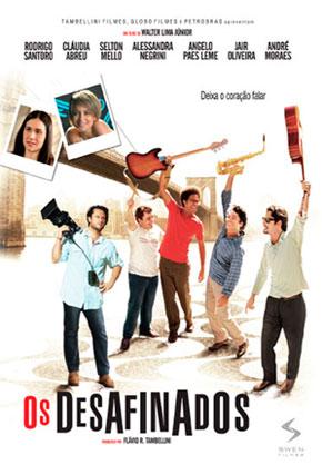 Capa do filme 'Os Desafinados'