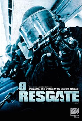 Capa do filme 'O Resgate'