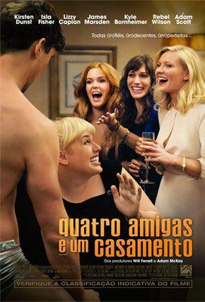 Capa do filme 'Quatro Amigas e Um Casamento'