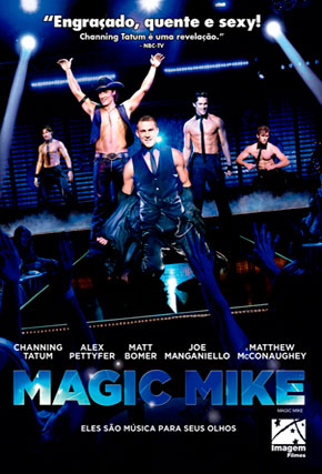 Capa do filme 'Magic Mike'