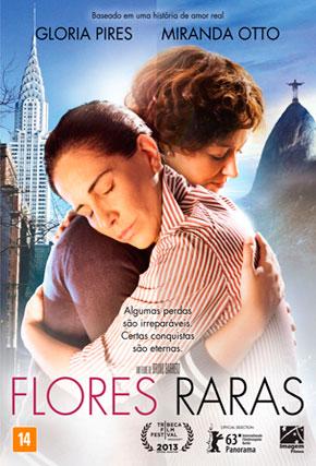 Capa do filme 'Flores Raras'