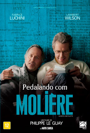 Capa do filme 'Pedalando com Molière'