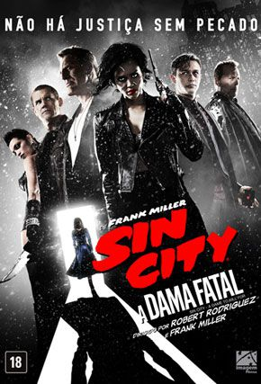 Capa do filme 'Sin City 2: A Dama Fatal'