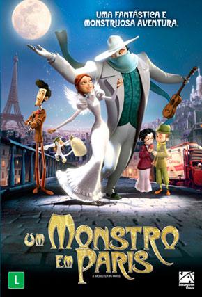 Capa do filme 'Um Monstro em Paris'