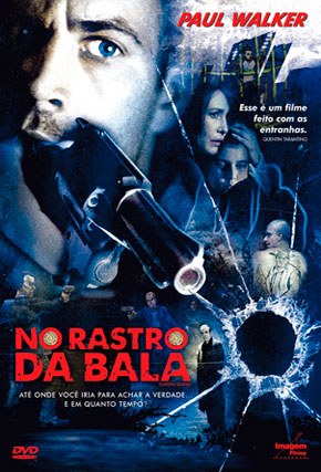 Capa do filme 'No Rastro da Bala'