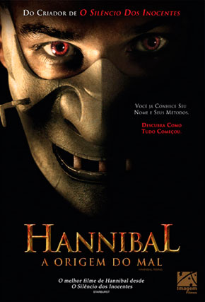 Capa do filme 'Hannibal - A Origem do Mal'