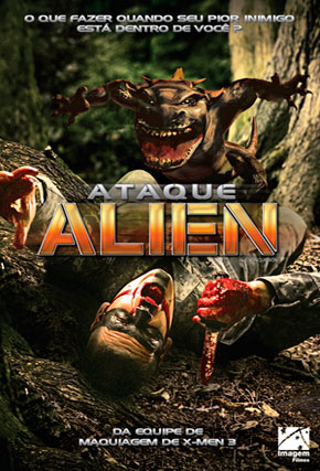 Capa do filme 'Ataque Alien'