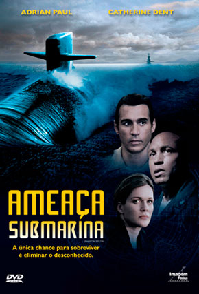 Capa do filme 'Ameaça Submarina'