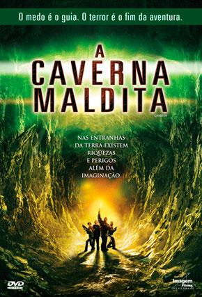 Capa do filme 'A Caverna Maldita'