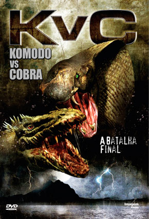Capa do filme 'Komodo vs Cobra'