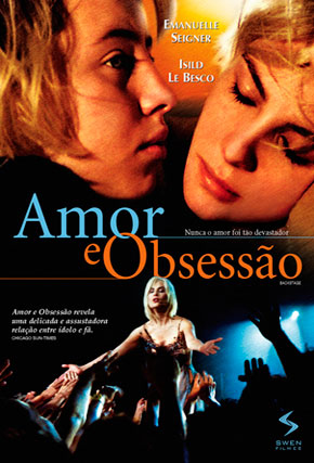 Capa do filme 'Amor e Obsessão'