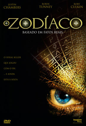 Capa do filme 'O Zodíaco'