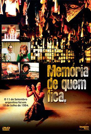 Capa do filme 'Memória de Quem Fica'