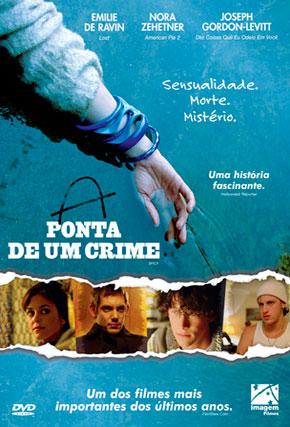 Capa do filme 'A Ponta de um Crime'