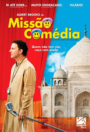 Capa do filme 'Missão Comédia'