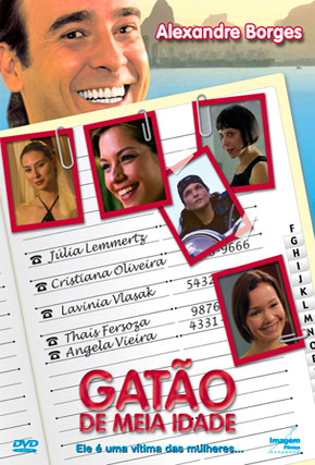 Capa do filme 'Gatão de Meia Idade'