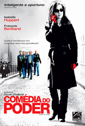 Capa do filme 'Comédia do Poder'