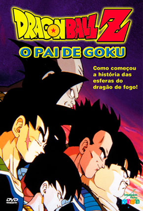Capa do filme 'Dragon Ball Z: O Pai de Goku'