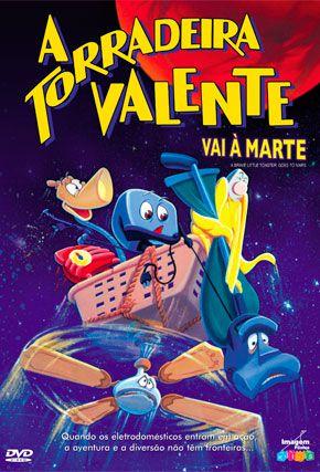 Capa do filme 'A Torradeira Valente vai à Marte'