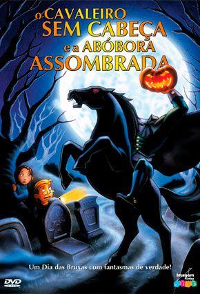 Capa do filme 'O Cavaleiro sem Cabeça e a Abóbora Assombrada'