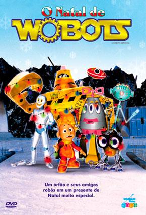 Capa do filme 'O Natal dos Wobots'