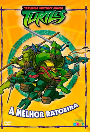 Capa do filme 'As Tartarugas Mutantes Ninjas'