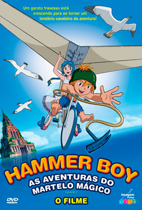 Capa do filme 'Hammer Boy - o Filme'