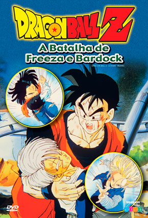Capa do filme 'Dragon Ball Z: A Batalha de Freeza e Bardock'