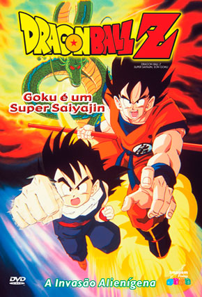 Capa do filme 'Dragon Ball Z Super Saiyan'