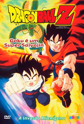 Capa do filme 'Dragon Ball Z Super Saiyan'