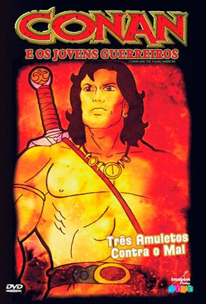 Capa do filme 'Conan e os Jovens Guerreiros'