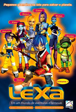 Capa do filme 'Lexa - Em um mundo de aventuras e fantasias'